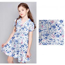 Cotton lycra spandex custom printed fabric 240gsm