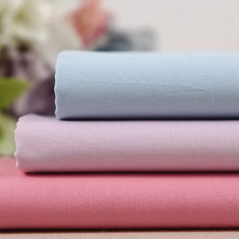 Wholesale solid cotton poplin woven fabric in-stock 40s