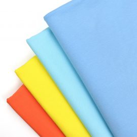 Wholesale solid cotton lycra fabric in-stock