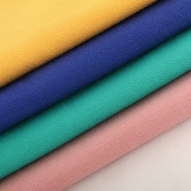 Wholesale solid 1×1 rib fabric in-stock